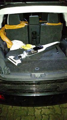 Mit dem Bosch Athlet 25.2 V Akkusauger mal eben schnell das Auto absaugen  http://www.mihela-testfamily.de  #Bosch #Staubsauger #Haushalt #Akkusauger #BoschAthlet