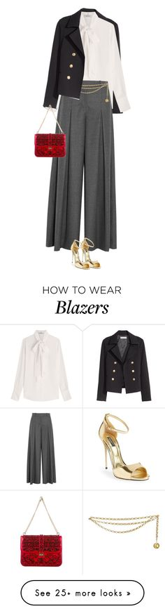 """""""Holiday Party - Outfit #2"""" by celida-loves-pink on Polyvore featuring H&M, Valentino, J.Crew, Dolce&Gabbana, Chanel, WhatToWear, holidaystyle, HolidayParty and Christmas2015"""