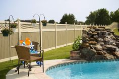The Best #PoolFence Types For #ChildSafety  http://blog.midatlanticdeckandfence.com/fencing-2/the-best-pool-fence-types-for-child-safety/ #VinylFencing #WoodFence