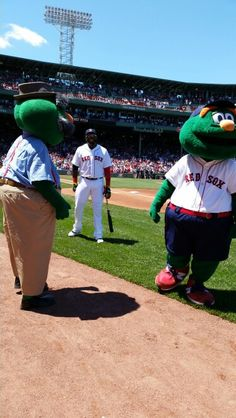 Father's Day laughs with my dad and Big Papi!