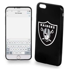 97675d82add NFL Raiders Shock Absorbent Durable and Flexible Protective Case iPhone 7  Plus for sale online | eBay