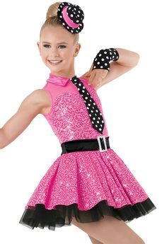 Weissman™   Sequin Party Dress with Dot Accents