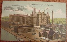 Centlivre Brewing Co. post card Fort Wayne Indiana