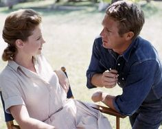 Lee Remick and Steve McQueen (Baby, the Rain Must Fall)