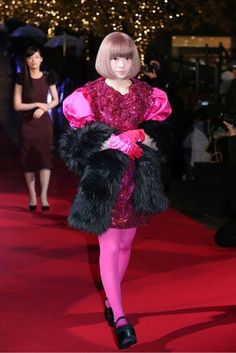 Kyary Pamyu Pamyu~ the most basic outfit I've seen her in yet...