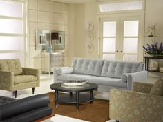 Blu Pastello with Ontario Living Room Set by @Cort Hightower Furniture
