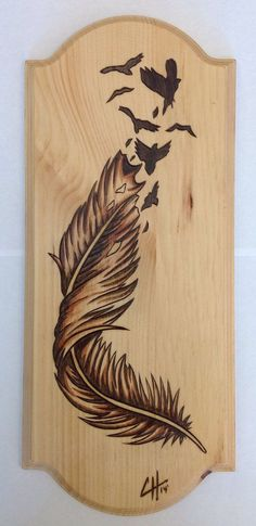 Articles similaires à Birds Of A Feather (Wood Burning / tache peinture) s. Wood Burning Crafts, Wood Burning Patterns, Wood Burning Art, Wood Crafts, Diy Wood, Wood Burning Projects, Diy Crafts, Wood Projects, Woodworking Projects