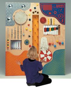 Acoustic Tactile Wall Panel Repinned by Apraxia Kids Learning. Come join us on Facebook at Apraxia Kids Learning Activities and Support- Parent Led Group.