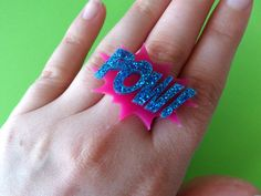 POW Ring – Glitterbomb