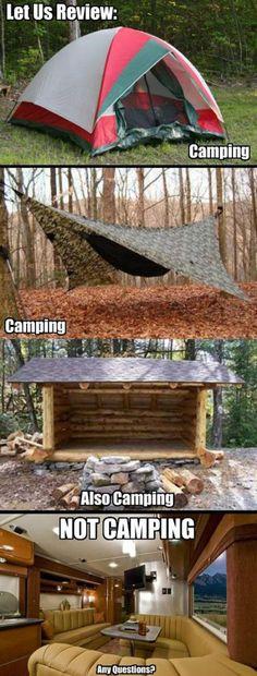 Real camping