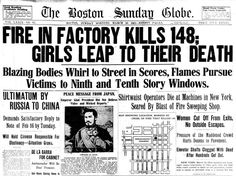Locked into the factory, workers were forced to jump to their deaths or burn alive. The deadly spectacle drew attention, especially since many of the dead workers were teenage girls. Women Civil Rights, Triangle Shirtwaist Factory Fire, Peace Messages, Society Problems, History Class, Industrial Revolution, Historical Photos, Books To Read, Death