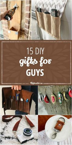 20 handmade gifts guys will actually like pinterest guy gift 15 diy gifts for guys jpg solutioingenieria Gallery