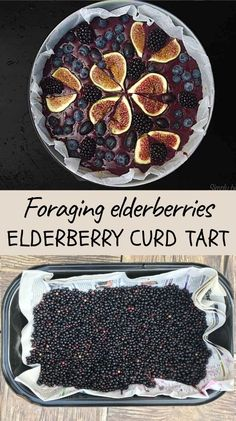 Well balanced combination of flavour rich elderberries, lemon and brown sugar create a distinctive taste in this elderberry lemon curd tart. Accompanied with almond crust and fruits on the top, this healthy dessert deserves our attention. Elderberry Juice, Elderberry Recipes, Easy Healthy Recipes, Real Food Recipes, Lemon Curd Tart, Easy Family Meals, Easy Meals, Raw Cake, Herb Recipes