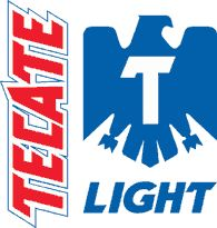 Tecate Light Logo Tecate is a Mexican beer with a rich history, the first beer to be canned in Mexico. Tecate Light is proud sponsor of the Pro Bull Riders (PBR) association and commissioned a Rodeo Tecate Light Can to tour the PBR venues starting in Las Vegas http://www.therodeobullcompany.com/Custom-mechanical-rides-Promotional-rides-mechanical-bulls-for-sale-The-safest-bull-in-the-world-Buy-the-best.html