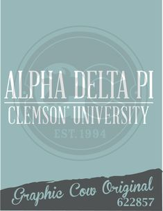 Alpha Delta Pi | Clemson | text | PR | Sorority PR | The Graphic Cow | grafcow | The Graphic Cow Company #grafcow #thegraphiccow #clemson #alphadeltapi #adpi #pr #sororitypr Sorority Pr, Sorority Recruitment, Custom Clothes, Custom Shirts, Graphic Cow, Relay For Life, Alpha Delta, Greek Clothing, Greek Life