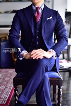 Nice Blue suit...                                                                                                                                                                                 More