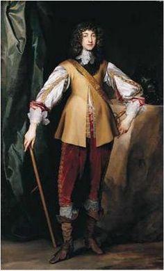Prince Rupert, cousin of Charles. Dec. 17, 1619 - Nov. 29, 1692.