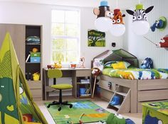 Love this jungle toddler room. Transitioning Elijah's jungle nursery to his jungle toddler room :)