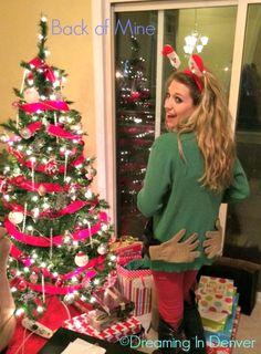 Ugly Christmas Sweater #DIY