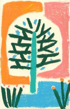 Árbol | Ilustración de Inma Lorente | Flecha