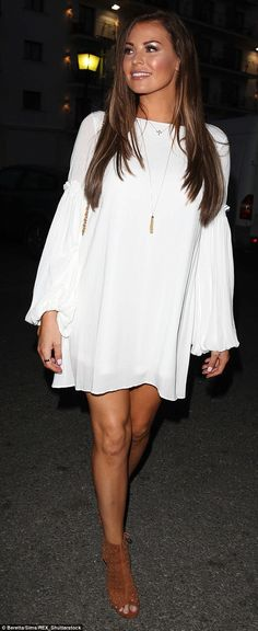 TOWIE's Jess Wright: 'I don't think I've ever been in love' #dailymail