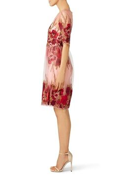 Rose Throw Dress by Marchesa Notte