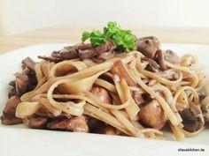 Linguini mit Rotwein-Pilz-Sauce | Dila vs. Kitchen...