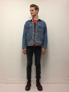 Vintage fleece Levi's jacket