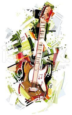 musical sketch watercolor - Buscar con Google