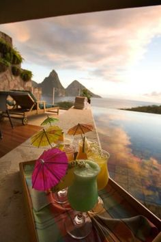 Travel Gallery: Jade Mountain Resort, St. Lucia Caribbean