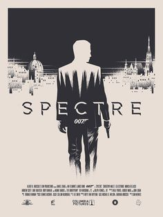 "Spectre - 2/12/16- ""A cryptic message from Bond's past sends him on a trail to uncover a sinister organization. While M battles political forces to keep the secret service alive, Bond peels back the layers of deceit to reveal the terrible truth behind SPECTRE."""
