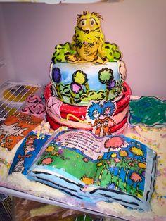 Dr. Seuss Cake Princess Zelda, Cakes, Fictional Characters, Art, Craft Art, Cake, Kunst, Pastries, Gcse Art