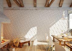 Quadilic fliesen design wohnbereich weiß KazaConcrete Ilan Garibi