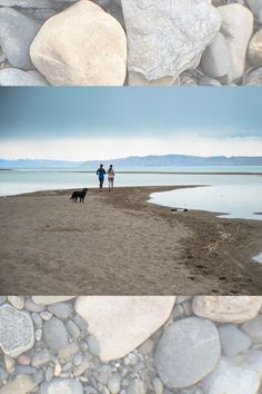 Running along the shore of Bear Lake, despite the gloom.