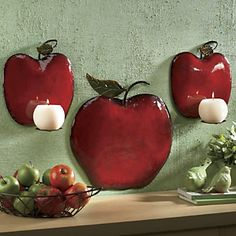 3 Piece Apple Sconce Set From Ginnyu0027s ®