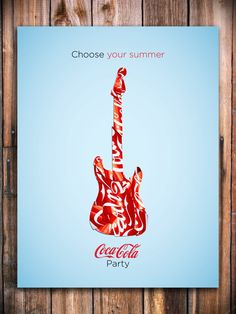 Coke Summer by Alex Uglow, via Behance