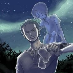 Zoro and Kuina - love that pic <3