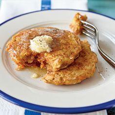 Carrot Cake Pancakes Recipe | MyRecipes