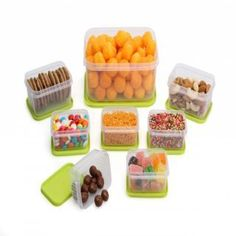 Airtight 8 Pcs Container Set in Rs. 99 only