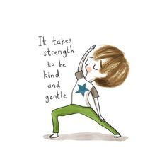 The Yoga Burn Trim Core Challenge is for women between the ages of including absolute beginners to fitness working out and yoga. Yoga Quotes, Words Quotes, Yoga Cartoon, Yoga Drawing, Yoga Illustration, Healing Words, Yoga Poses For Beginners, Yoga For Weight Loss, Yoga For Kids