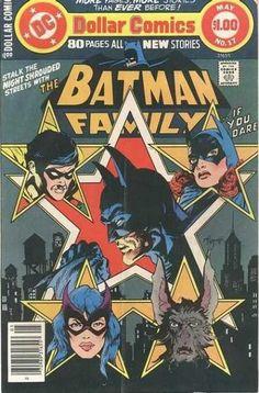 batman family #17 / mike kaluta