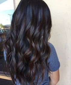 Long Wavy Ash-Brown Balayage - 20 Light Brown Hair Color Ideas for Your New Look - The Trending Hairstyle Chocolate Brown Hair Color, Hair Color For Black Hair, Brown Hair Colors, Dark Colors, Darkest Brown Hair Color, Golden Brown Hair, Light Brown Hair, Dark Brown Hair With Low Lights, Cool Brown Hair