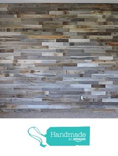 Box of 20 square feet. Reclaimed Wood Wall Paneling DIY asst 3-inch boards. Barnwood boards choice of colors. from AllBarnWood https://www.amazon.com/dp/B01AMJJO8C/ref=hnd_sw_r_pi_awdo_BV0hyb6CMJDDV #handmadeatamazon