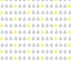 Raindrops - gray fabric by drapestudio on Spoonflower - custom fabric http://www.spoonflower.com/designs/3639838