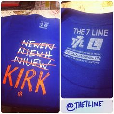 Kirk t-shirt from The 7 Line