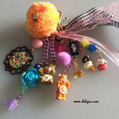 CARE BEARS BAGCHARM or keychain by didepux on Etsy