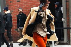 NY fashion week attitude
