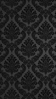 Vintage black lace background
