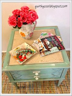 Hometalk :: Beach Cottage Inspired Side Table