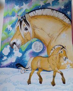 #Lenafurberg #coloringhorses #målahästar #fjording #horse #coloring #coloringbook #horsecoloringbook #horses #horsecoloring #beautifulcoloring #pages